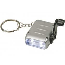 Lampe torche 2 led mini dynamo