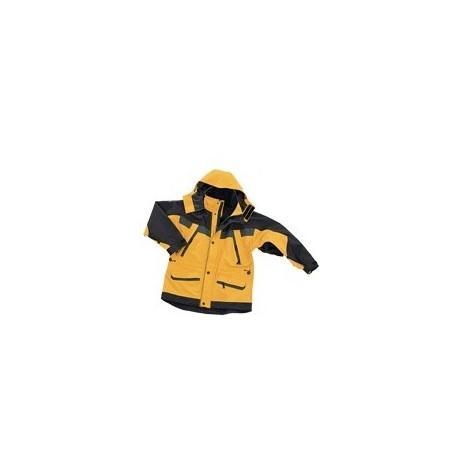 Parka antarctic XXL jaune/noir
