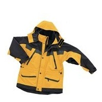 Parka antarctic  XL jaune/noir