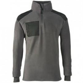 Polaire   XL gris/noire