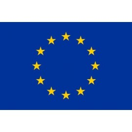 Drapeau europeen 0.40m x 0.60m e.e.g.