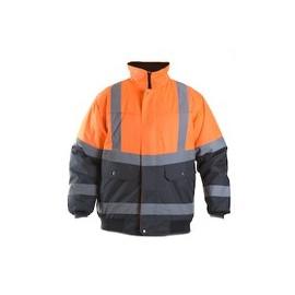 blouson sécurité   M orange