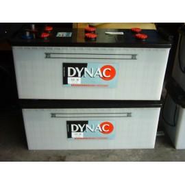Batterie 12v dynac 64020 140ah (demarrage) (ex 63530 135ah)