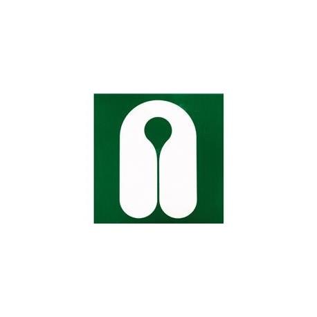 Autocollant gilet de sauvetage (stockage) 4,5cm x 4,5cm