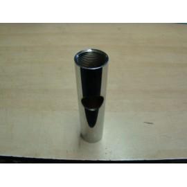 Antenne vhf cx4 : tube inox filete pour mat F-F