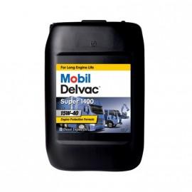 Mobil Delvac Super 1400 20l  essolube xt3 et xt4