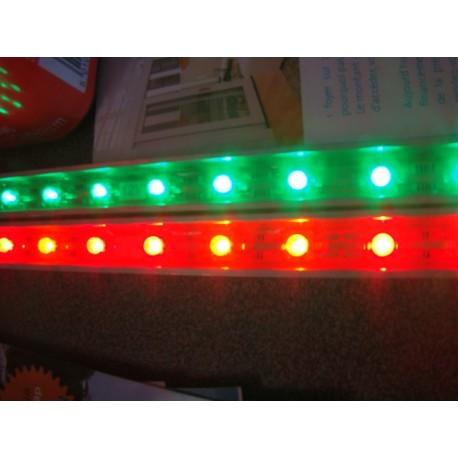 Lampe led verte 24V 1,5x33cm