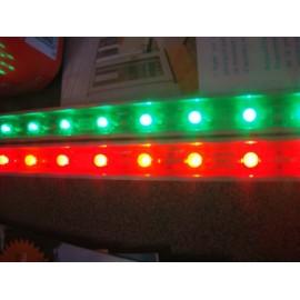 Lampe led rouge 24V 1,5x33cm