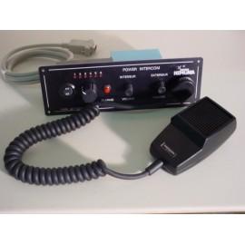 Interphone 24v (f) a encastrer a h-p exterieur 6 canaux