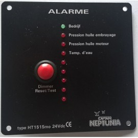 Alarme moteur 24v (f) 8 canaux
