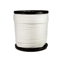 Corde nylon en  4mm blanc...