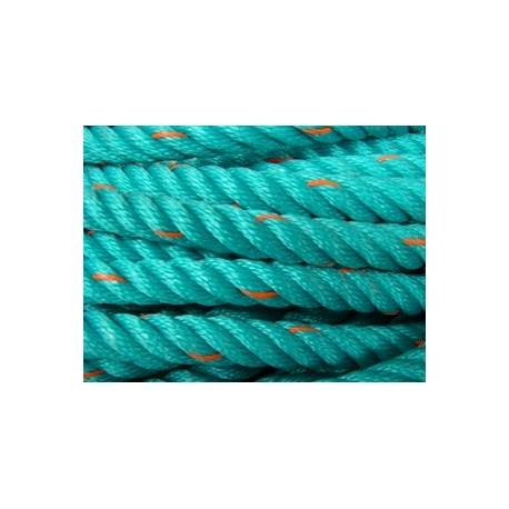 Polyethylene vert+orange 24mm