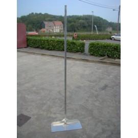 Racloir a grains aluminium 2,50m x 0,35m x 0,20m