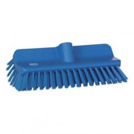 Brosse Vikan a recurer medium 110x145x245mm bleue 70473