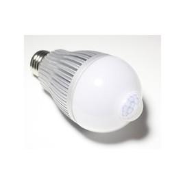 Ampoule led 220v 6w (+/- 60w)E27 avec detecteur demouvement