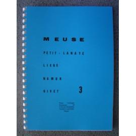 Carte 3 Meuse (f) : petit-lanaye -liege-huy-namur-givet