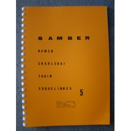 Carte 5 samber (n) : namen-charleroi-thuin-erquelines