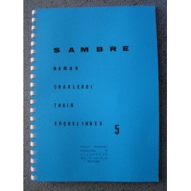 Carte 5 sambre (f) : namur-charleroi-thuin-erquelines
