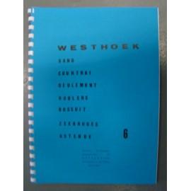 Carte 6 westhoek (f) : gand-courtrai-roulers-zeebrugge-osten