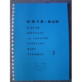 Carte 7 coté-sud (f) : wintam-bruxelles-charleroi-mons-peron