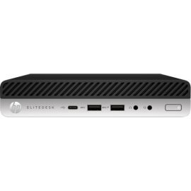 PC HP EliteDesk 800 65W G3 8GB 128GB SSD  mini PC 2X DisplayPort Win 10 Pro