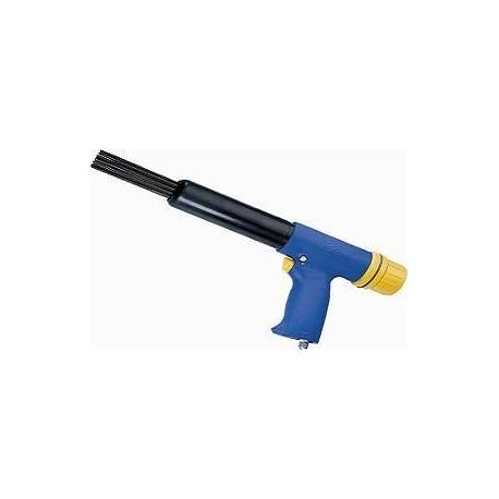 Marteau np-23-k pneumatique a 19 aiguilles 3mm  (jaune/bleu) derouilleur
