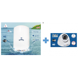 Antenne Glomex Webboat Lite + Glomex Camboat (kit)