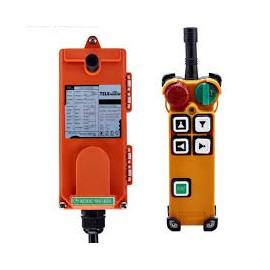 Radiocommande 2 axes 2 sens 24VAC/DC 4 Boutons +  1x start + 1x stop + 1x verrouillage