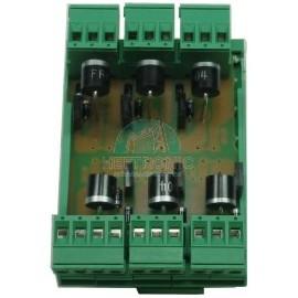 Plaquette Electronique 6 feux + test HT-1785