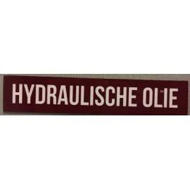 Magnet hydraulische olie