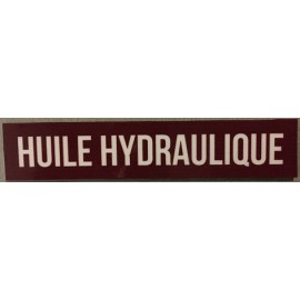 Magnet huile hydraulique