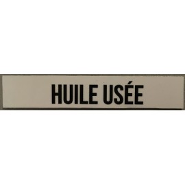 magnet huile usee