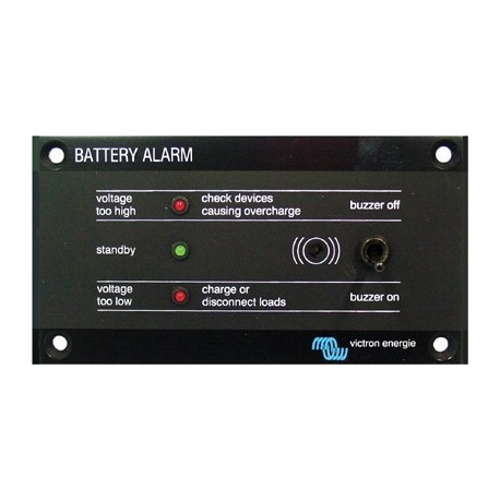 Battery alarm victron