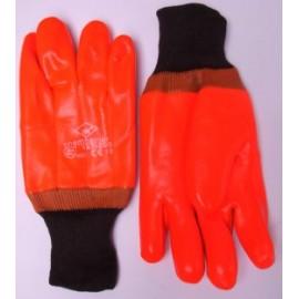 Gants homme pvc fluo fourre jersey T10 59-GANTS147500