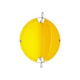 Bouee jaune diam: 60cm pour mat (tissu)
