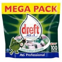 Dreft Pro All-In 100 caps