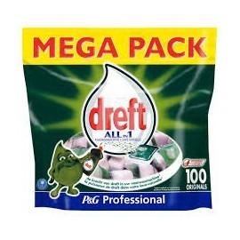 Dreft Pro All-In 100 caps