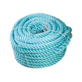 Orkava polyethylene turquoise/bleu 40mm 55m 2 boucles (51m)