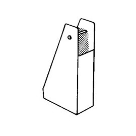 Pied pour mat aluminium rond