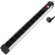 multiprise 10 fiches 16A + interrupteur + fusible (protection surtension) Max 3500w