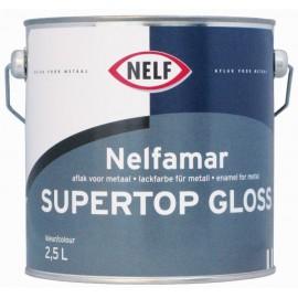 Nelfamar super top gloss 2,5L RAL5003