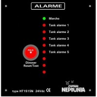 Tank alarme 24v 8 canaux