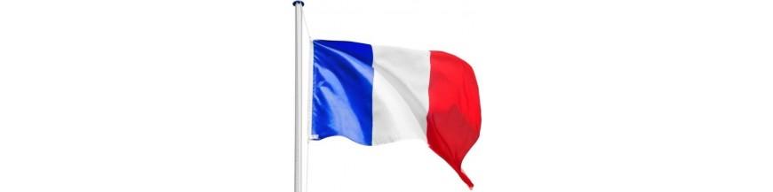 drapeaux et porte drapeaux